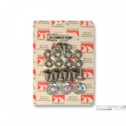 64-70 DLX. BUMPER BOLT KIT