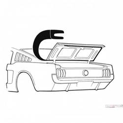 64-66 TRUNK SEAL (FBACK)
