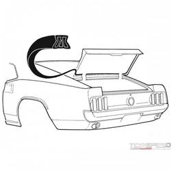 69-70 TRUNK SEAL (FBACK)