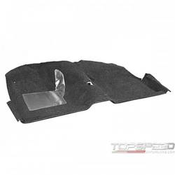 65-68 COUPE CARPET (BLACK)