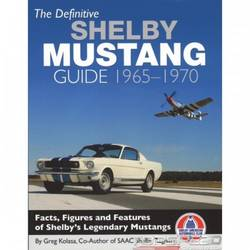 DEFINITIVE SHELBY MUSTANG BOOK
