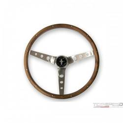 13 1/2in. WOOD STEERING WHEEL