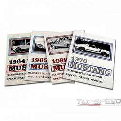 65 MUSTANG FACTS BOOK