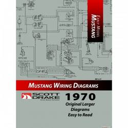 1970 PRO WIRING DIAGRAM MANUAL