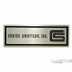 65-66 SHELBY SCUFF PLATE TAG
