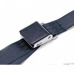 64-73 BLACK WRINKLE SEAT BELTS