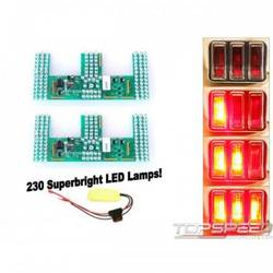 67-8 LED SEQUENTIAL T/LAMP KIT