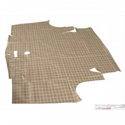 67-68 COUGAR TRUNK MAT PLAID