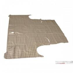 60-63 FALCON TRUNK MAT PLAID