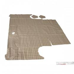 64-65 FALCON TRUNK MAT PLAID