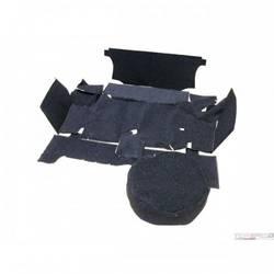 64-66 TRUNK CARPET BLACK COUPE