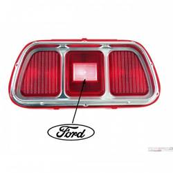 71-73 TAIL LIGHT LENS & BEZEL