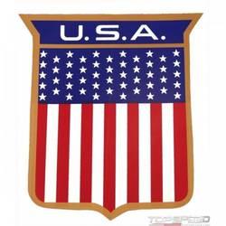 72 U.S.A BODY SHIELD DECAL