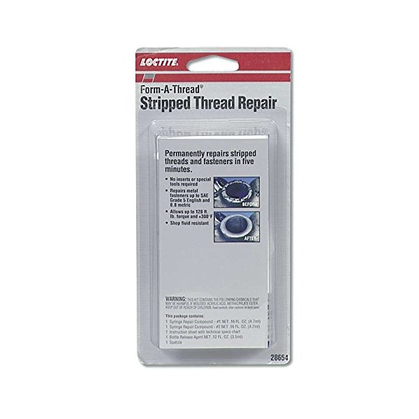 Loctite 28654 - Loctite Form-A-Thread Stripped Thread Repair Kits