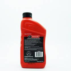 Motorcraft® SAE 5W-20 Synthetic Blend Motor Oil Case 12
