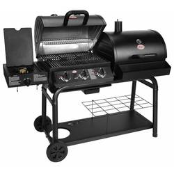 Duo Black Dual-Function Combo Grill - BBQ USA **FREE COVER**