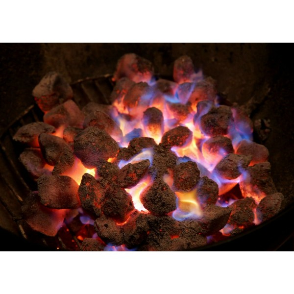 BBQ COCONUT SHELL BY CUE -5KG BOX * Lease Co2 in the World *