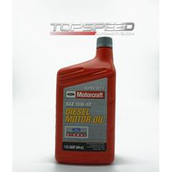 MOTORCRAFT SUPER DUTY DIESEL MOTOR OIL 1 US QT