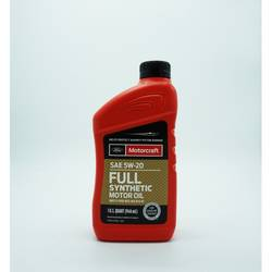MOTORCRAFT FULL SYNTHETIC 5W20 1 X US QT