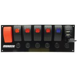 SWITCH PANEL,ROCKER, BREAKERS, USB PORT