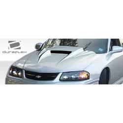 2000-2005 Chevrolet Impala Duraflex Spyder 3 Hood - 1 Piece