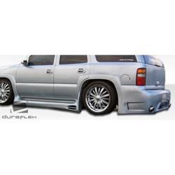 2000-2006 Chevrolet Suburban Duraflex Platinum Side Skirts Rocker Panels - 2 Piece