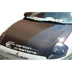 2000-2005 Mitsubishi Eclipse Carbon Creations OEM Look Hood - 1 Piece