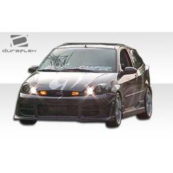 2000-2004 Ford Focus Duraflex R34 Front Bumper Cover - 1 Piece