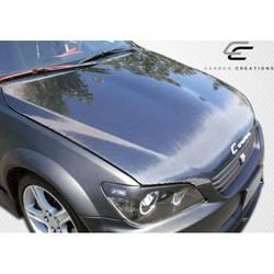 2000-2005 Lexus IS Series IS300 Carbon Creations OEM Look Hood - 1 Piece