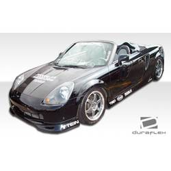 2000-2002 Toyota MRS MR2 Spyder Duraflex TD3000 Front Lip Under Spoiler Air Dam - 1 Piece