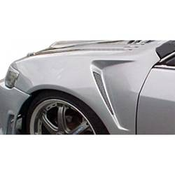 2001-2003 Honda Civic Duraflex F-1 Fenders - 2 Piece