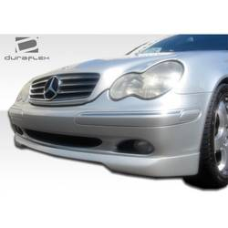 2001-2004 Mercedes C Class W203 Duraflex CR-S Front Lip Under Spoiler Air Dam (non sport package) - 1 Piece (Overstock)
