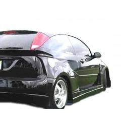 2000-2007 Ford Focus ZX3 Duraflex Q Flared Rear Fender Flares - 2 Piece (Overstock)