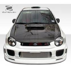 2002-2003 Subaru Impreza WRX STI Duraflex C-Speed Front Lip Under Spoiler Air Dam - 1 Piece