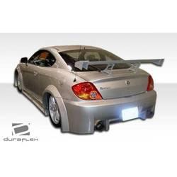 2003-2006 Hyundai Tiburon Duraflex Poison Flared Rear Fender Flares - 2 Piece