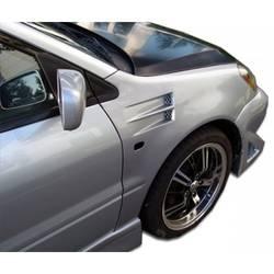 2004-2007 Mitsubishi Lancer Duraflex X-2 Fenders - 2 Piece