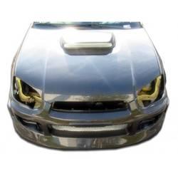 2004-2005 Subaru Impreza WRX STI Carbon Creations STI Look Hood - 1 Piece