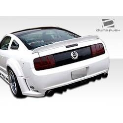 2005-2009 Ford Mustang Duraflex Circuit Wide Body Rear Fender Flares - 2 Piece