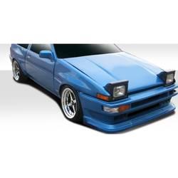 1984-1987 Toyota Corolla Duraflex D-1 Sport Front Fenders - 2 Piece
