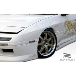 1986-1991 Mazda RX-7 Duraflex M-1 Sport Front Fenders - 2 Piece