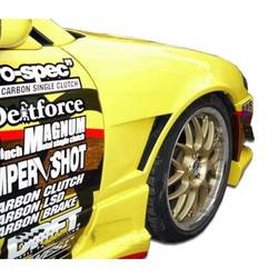 1995-1996 Nissan 240SX S14 Duraflex M-1 Sport Front Fenders - 2 Piece