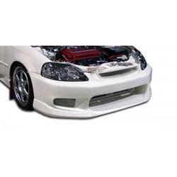 1996-1998 Honda Civic Duraflex C-1 Front Bumper Cover - 1 Piece