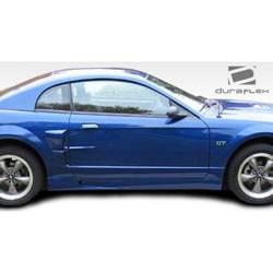 1999-2004 Ford Mustang Duraflex CVX Side Scoop - 2 Piece