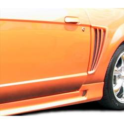 1999-2004 Ford Mustang Duraflex Colt Side Scoop - 2 Piece