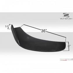 Universal Duraflex Front Splitters - 2 Piece