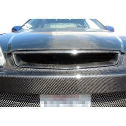 1999-2000 Honda Civic Carbon Creations Type R Grille - 1 Piece - (Overstock)