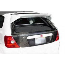 2002-2005 Honda Civic Si HB Carbon Creations OEM Look Trunk - 1 Piece (Overstock)