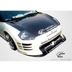 Universal Carbon Creations Middle Splitter Front Lip Under Spoiler Air Dam - 1 Piece