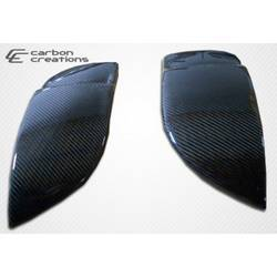 2004-2005 Subaru Impreza WRX STI Carbon Creations OEM Look Fog light covers - 2 Piece (Overstock)
