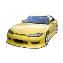 1989-1994 Nissan 240SX S13 Duraflex Silvia S15 Conversion Type U Kit - 4 Piece
